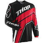 2014 Thor Phase Jersey - Stripe - MENS--JERSEYS Dirt Bike Riding Gear