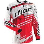 2014 Thor Phase Jersey - Swipe - Thor Dirt Bike Riding Gear