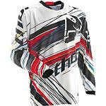2014 Thor Phase Vented Jersey - Wired - Thor Dirt Bike Riding Gear