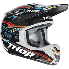 2014 Thor Verge Helmet - Boxed - 2013 JT Racing Dalmatian ALS-02 Limited Edition Helmet
