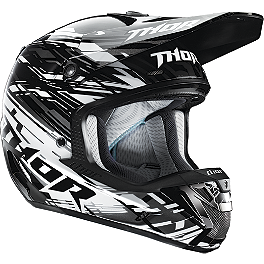 2014 Thor Verge Helmet - Twist - 2013 JT Racing Dalmatian ALS-02 Limited Edition Helmet