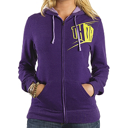 2014 Thor Women's Blockette Fleece Zip Hoody - Metal Mulisha Women's Magdalena Top