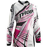 2014 Thor Women's Phase Jersey - Flora - ATV Riding Gear