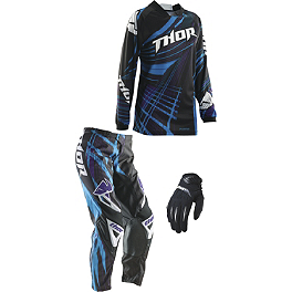 2014 Thor Women's Phase Combo - Flora - 2014 Troy Lee Designs Women's GP Air Combo - Airway