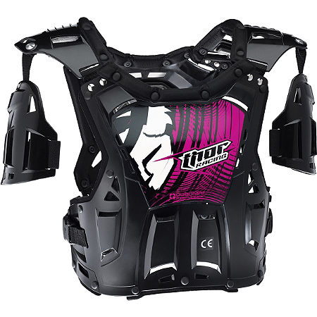 2014 Thor Women's Quadrant Chest Protector - Main