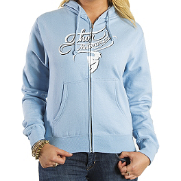 2014 Thor Women's Curly-Q Fleece Zip Hoody - One Industries 3 Foot Trailer Decal