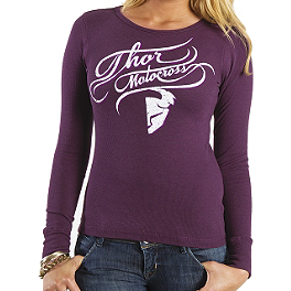 2014 Thor Women's Curly-Q Long Sleeve Thermal - Thor Women's Harper Beanie