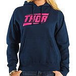 2014 Thor Women's Voltage Fleece Hoody - Womens Dirt Bike Sweatshirts & Hoodies
