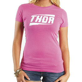 2014 Thor Women's Voltage T-Shirt - Bel-Ray Fork Oil