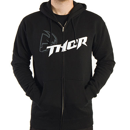 2014 Thor Fusion Fleece Zip Hoody - Main