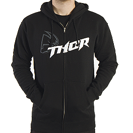 2014 Thor Fusion Fleece Zip Hoody - Thor Racer Fleece Zip Hoody