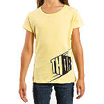 2014 Thor Girl's Blockette T-Shirt - Dirt Bike Youth Casual