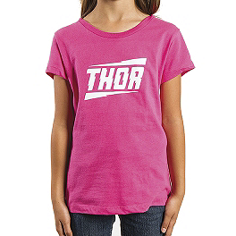 2014 Thor Girl's Voltage T-Shirt - KTM Powerwear Youth Team Hoody