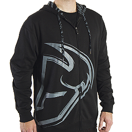 2014 Thor Split Fleece Zip Hoody - Thor Racer Fleece Zip Hoody