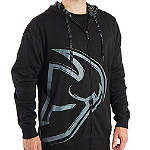 2014 Thor Split Fleece Zip Hoody - ATV Mens Casual