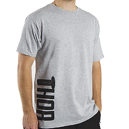 2014 Thor Grip T-Shirt - Alpinestars Full Grain Long Sleeve T-Shirt