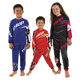 2014 Thor Toddler Pajamas - Stripe - Smooth Industries Smooth Moto X 2-Piece Play Wear