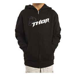 2014 Thor Youth Fusion Fleece Zip Hoody - Metal Mulisha Youth Splat T-Shirt
