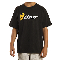 2014 Thor Youth Loud N' Proud T-Shirt - Alpinestars Full Grain T-Shirt