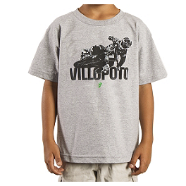 2014 Thor Youth Villopoto T-Shirt - One Industries Youth Fanatic T-Shirt