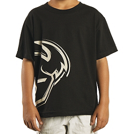 2014 Thor Youth Split T-Shirt - PC Racing Helmet Mohawk