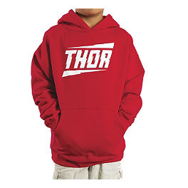 2014 Thor Youth Voltage Fleece Hoody - 2014 Thor Youth Trainer T-Shirt