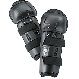 2014 Thor Sector Knee Guards - 2012 EVS Option Knee Guards