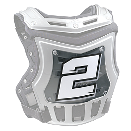 Thor Sentinel ID Panel - Clear - Factory Effex Chest Protector ID Kit