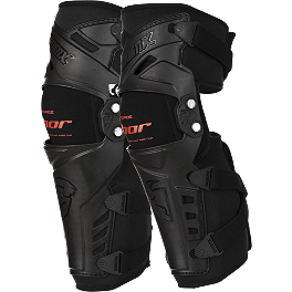 2014 Thor Force Knee Guards - Fly Racing 5 Pivot Knee Guards