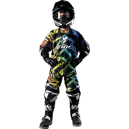 2012 Thor Youth Core Pants - Ripple - 2012 Thor Youth Core Ripple Combo