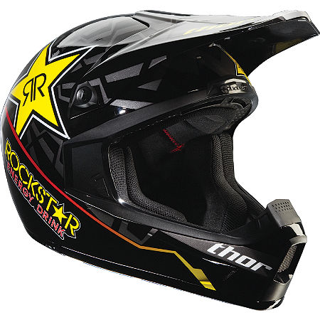 2012 Thor Youth Quadrant Helmet - Rockstar - Main