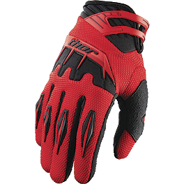 2013 Thor Youth Spectrum Gloves - 2013 Fox Youth Dirtpaw Gloves - Race