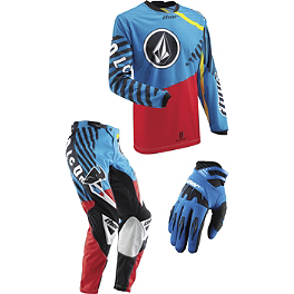 2013 Thor Youth Phase Combo - Volcom - 2013 Troy Lee Designs Youth GP Air Combo - Cyclops