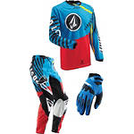 2013 Thor Youth Phase Combo - Volcom - Discount & Sale Utility ATV Pants, Jersey, Glove Combos