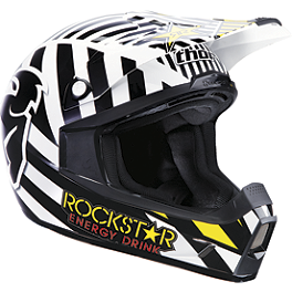 2013 Thor Youth Quadrant Helmet - Rockstar - 2013 Fox Youth V1 Helmet - Rockstar