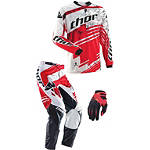 2014 Thor Youth Phase Combo - Swipe - Thor Phase Utility ATV Pants, Jersey, Glove Combos