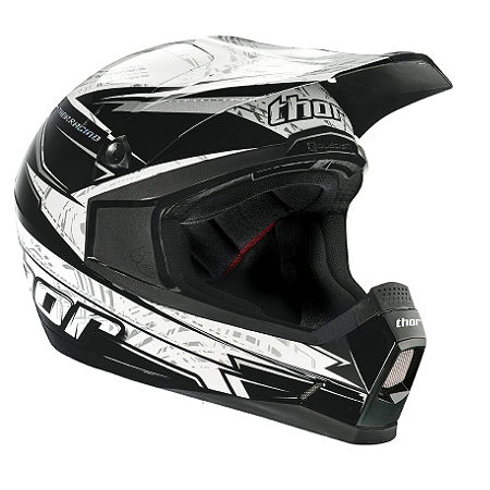 2014 Thor Youth Quadrant Helmet - Stripe - Main