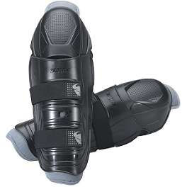 2014 Thor Youth Quadrant Knee Guards - 2013 Fox Youth Titan Race Knee Guards
