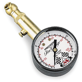 Accugauge Air Pressure Tire Gauge - 1-15 PSI - BikeMaster Dial Gauge - 0-15 PSI