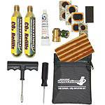 Genuine Innovations Tire Repair & Inflation Kit - Unbranded Motorcycle Tire and Wheels