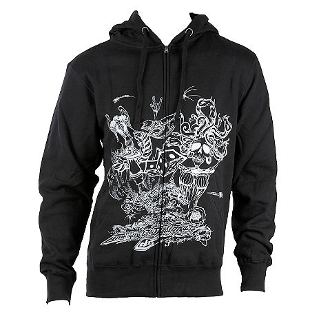 Troy Lee Designs Indy Medusa Fleece Hoody - Main