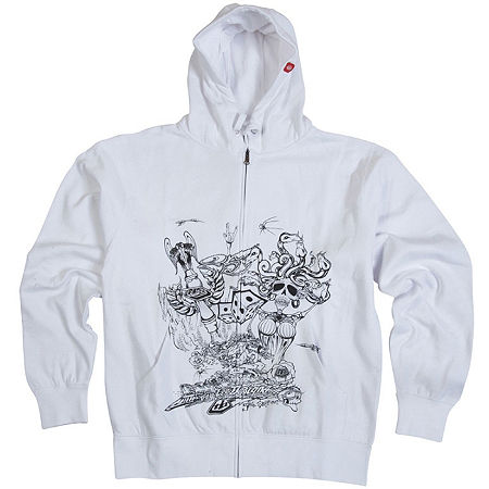 Troy Lee Designs Youth Medusa Fleece Zip Hoody - Main