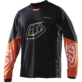 2014 Troy Lee Designs Adventure Jersey - 2013 Troy Lee Designs Speed Equipment Jersey - Piston Bone