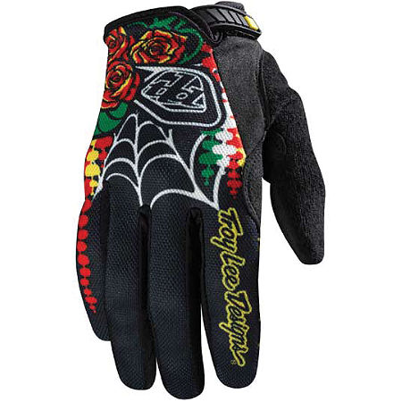 2012 Troy Lee Designs Women's Ace Gloves - Voodoo - Main
