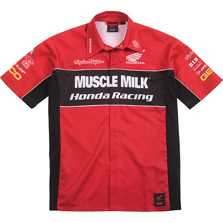 Troy Lee Designs Honda Team Pit Shirt - Clearance - Main