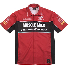 Troy Lee Designs Honda Team Pit Shirt - Clearance - Troy Lee Designs Honda Team Shirt