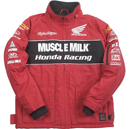 Troy Lee Designs Honda Team Jacket - Clearance - Troy Lee Designs Honda Team Fleece
