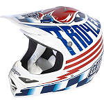 2013 Troy Lee Designs Air Helmet - Ace - Dirt Bike Off Road Helmets