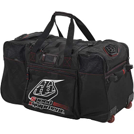 2014 Troy Lee Designs Speed Equipment Wheeled Gear Bag - 2013 Answer Rockstar Large Rolling Gear Bag