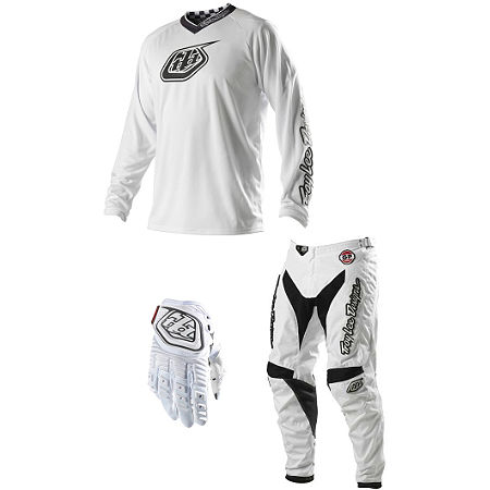 2014 Troy Lee Designs GP Combo - Hot Rod White - Main